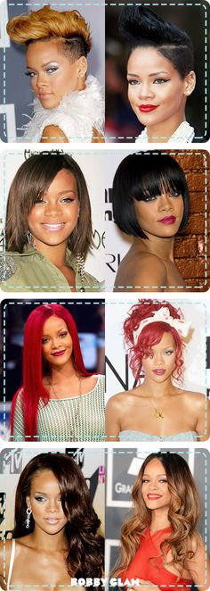 We are loving how much Rihanna's hair has changed over the years! ♥