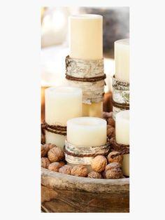 Winter Lantern Candles