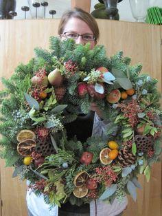 wakacyjnych wreath2 z klasy wieniec grudnia 2012 Weeks Françoise