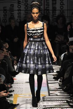 Prada Fall 2010 RTW - Runway Photos - Fashion Week - Runway, Fashion Shows and Collections - Vogue