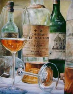 Vintage Wine 1by ~bex-was-here                 Traditional Art / Paintings / Still Life©2005-2013 ~bex-was-here