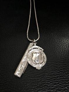 Vintage Silver Boho Necklace by FribblePistol