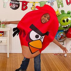Let the birthday boy dress as his favorite bird on his special day. Once he puts on that Red Angry Birds Costume, he'll know that the day is just for him!