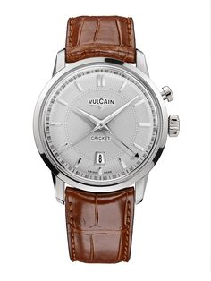 1947 was the year Vulcain first introduced its famous Cricket Calibre mechanical alarm wristwatch. This innovative movement would feature on numerous Vulcain watches, and it marked the start of a new era.