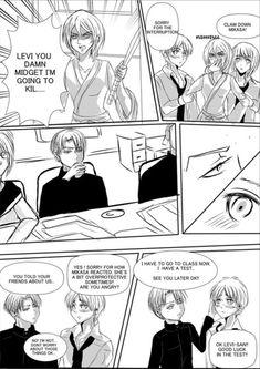 Page 2 Read from the story *Ereri Short Dj by ItsMe_Me (_Kami-sama_👑) with reads. Eruri, Levi X Eren, Mikasa, Doujinshi, Hetalia, Attack On Titan, My Hero Academia, Otaku, Ships