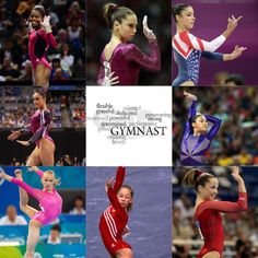 Gabby Douglas, mckayla maroney, aly raisman, jordyn wieber, Kyla Ross, Nastia luiken, Shawn Johnson, and Carly Patterson (gymnasts)