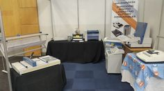Denton Office Solutions stand at the print expo in Cape Town