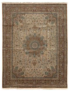 Turkish contemporary  silk rug  Turkey  size approximately 9ft. 1in. x 12ft. 2in.
