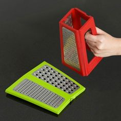 Great idea...collapsible grater.