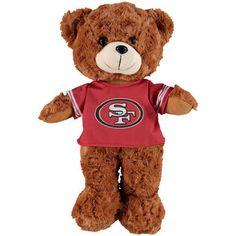 "San Francisco 49ers 14"" Fuzzy Uniform Bear"