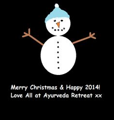 Ayurveda Retreat in Reading would like to wish everyone a fantastic festive season and a happy and healthy 2014! www.ayurveda-retreat.co.uk