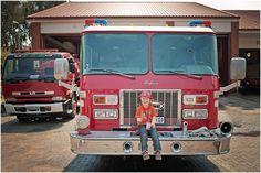 Fire station birthday party photography. www.charlenelouw.co.za