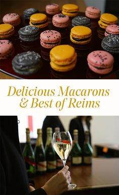 Learn to make macarons like a professional and immerse yourself in a champagne journey, getting to know a second city built below Reims, where people used to hide in the second world war. How To Make Macarons, French People, Champagne, Journey, War, France, Cooking, Breakfast, Desserts
