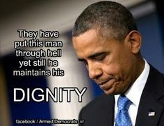 President Obama consistently embodies class and dignity, no matter what others may throw at him.