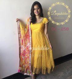Long Dress Design, Dress Neck Designs, Blouse Designs, Long Gown Dress, Frock Dress, Salwar Dress, Long Frock, Designer Anarkali Dresses, Designer Dresses