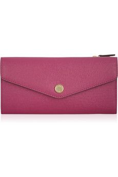 Color-block textured-leather wallet - MICHAEL Michael Kors
