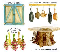 12 things that make your home rustic
