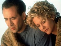 City of Angels  An angel who watches over Los Angeles falls in love with a beautiful and caring heart surgeon. Is he willing to give up his angelic abilities so he can love her as a human?   Starring: Meg Ryan, Nicolas Cage  Released: 1998