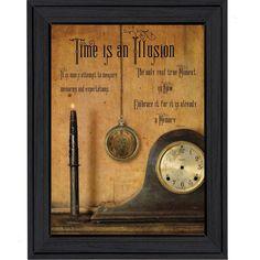 <li>Artist: Billy Jacobs</li> <li>Title: Time is an Illusion</li> <li>Product type: Framed Print</li>