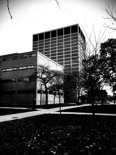 Crown hall istitute of technology _ Chicago