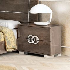 Contemporary Prestige Umber Birch Collection, Bedside Cabinets in Birch Wood Look Veneer #bedsidecabinet #modernfurniture #furniture