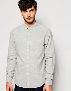 ASOS Shirt in Cord with Long Sleeves