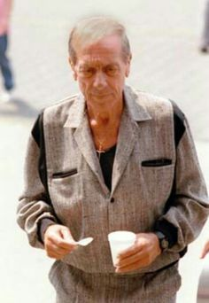 """Colombo Family Capo and chief enforcer for Carmine Persico, Greg """"Grim Reaper """" Scarpa, looking a shadow of his formidable self after contracting the aids virus through a bad blood transfusion. Gangster Quotes, Mafia Gangster, Greg Scarpa, Colombo Crime Family, Carlo Gambino, Bad Blood, Grim Reaper, Thug Life, The Godfather"""