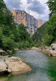 Grand Canyon section of the Gorges du Verdon in Provence
