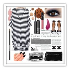 """SheInStrips"" by laalex ❤ liked on Polyvore"