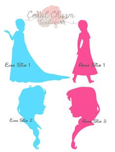 Frozen Anna/Elsa File for Silhouette by CoralCharmBoutique on Etsy