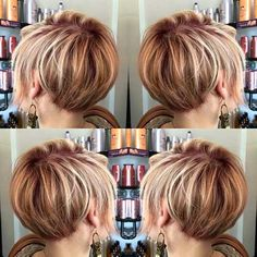 Bob hairstyles are in trends lately and women sport many different bob styles. Here in this post you will find the images of 20 Must-See Bob Haircuts that can make you want a bob immediately! 1. Platinum Bob Hairstyle Stacked… Continue Reading →