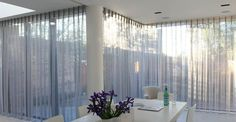 sliding door sheer curtains
