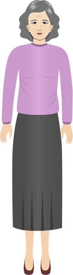 Wang Xiu Ying - Asian female customized illustration for eLearning with Adobe Captivate, Articukate Storyline, and Techsmith Camtasia.