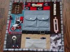 A Fidget Quilt can be used by Alzheimers, Dementia or Brain Trauma Patients. It has attachments to keep restless fingers busy, touching and Alzheimers Activities, Sensory Blanket, Fidget Blankets, Fidget Quilt, Man Quilt, Stress Toys, Blanket Stitch, Lap Blanket, Machine Quilting