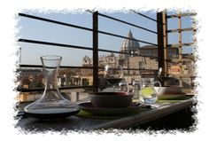 Lunch on the Angel's Gate san Pietro Terrace