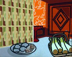 Still Life: Autumn Fashion - Patrick Caulfield 1978 James Rosenquist, Still Life Artists, Claes Oldenburg, Shadow Photos, Walker Art, Jasper Johns, Painting Still Life, High Art, Art Uk