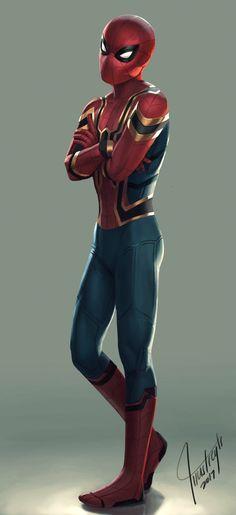 Iron Spider by reytz05.deviantart.com on @DeviantArt