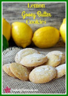 Sweet, with a hint of tart, this lemon gooey butter cookie recipe is a real crowd-pleaser. You would never guess it starts with a boxed cake mix. Learn how to make them here!