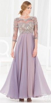 Ballerina Chiffon Evening Dress by Terani Couture