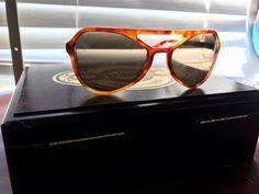 PRADA Sunglasses Havana Brown Turtoise SPR 22R 58 18 4BW 4J1 140 3N Glasses