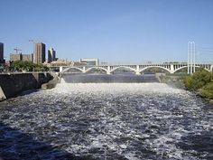 Minneapolis Facts- 43. St. Anthony Falls is the only true waterfall on the entire Mississippi River.