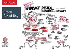 Tak-Tik is graphic recording at the Oracle Cloud day today see how the digital transformation journey translated into sketches and visual map  #myoraclecloudday #oraclecloudday  #graphicrecording #visualfacilitation #scribe #illustration #sketchnotes #livescribing #taktikgraphicrecording #doodles