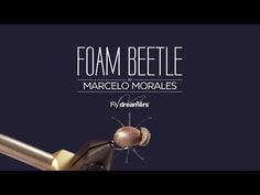 Fly Tying: Foam Beetle - Find the best Fly Tying Videos in Fly dreamers. Dry Flies, Streamers, Nymphs, Emergers, Classic Flies, Saltwater Flies and much more. | Fly dreamers
