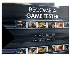 Blogging about products you should have: How to Become A Games Tester