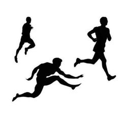 "Track and Field Athletics Theme - 24""W x 18""H - Peel and Stick Wall Decal by Wallmonkeys"