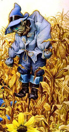 Иллюстратор Charles Santore. Волшебник страны Оз - Художественная галерея