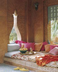 Style At Home, Morrocan Decor, Morrocan House, Bohemian Patio, Moroccan Interiors, Interior Decorating, Interior Design, Pool Houses, Home Fashion