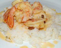#Gamberetti al #cocco e #vaniglia (cucina polinesiana), la ricetta
