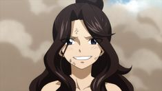 Fairy Tail Cana, Fairy Tail Anime, Fairy Tail Girls, Silver The Hedgehog, Silver Age, Black Hair, Fairy Tales, One Piece, Black And White