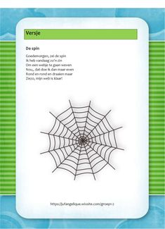 Versje: De spin Autumn Theme, Spiders, Activities For Kids, Diy And Crafts, Preschool, Drama, Carnival, Fall, Spider